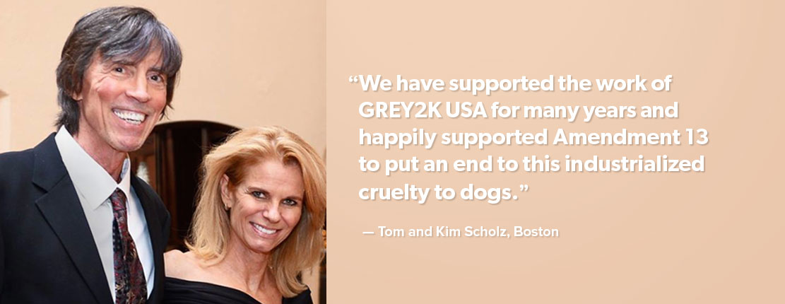Tom and Kim Scholz testimonial for GREY2K USA Worldwide