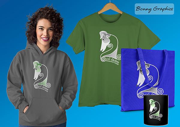 Bonny Graphics hoodie, tee, tote and mug