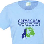 GREY2K USA Worldwide t-shirt