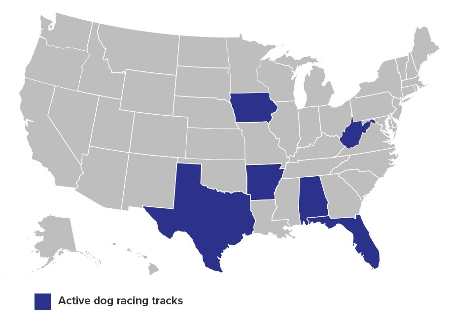 Active tracks in the United States